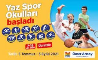 'Zeytinburnu Belediyesi Kış Spor Okulları' İçin Kayıtlar Başlıyor…