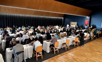348 Sporcu Satranç Turnuvası'nda Mücadele Etti