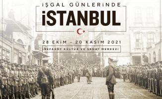 ALPER ÇEKER ARŞİVİNDEN FOTOĞRAFLARLA İSTANBUL'UN İŞGAL GÜNLERİ SKSM'DE