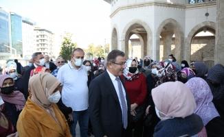 Ayasofya ve Taksim Camii gezilerine yoğun ilgi...