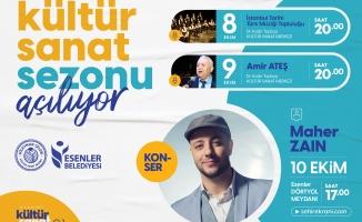 Esenler'de Kültür Sanat Sonu Açılıyor