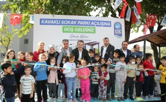 Güzeltepe Kavaklı Sokak Parkı açıldı