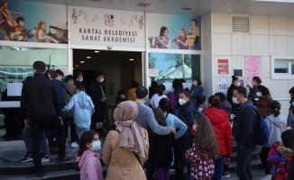 Kartal Belediyesi Sanat Akademisi Yetenek Sınavlarına Rekor Başvuru