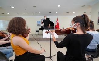Kartal Belediyesi Sanat Akademisi Yüz Yüze Eğitimlerine Başladı