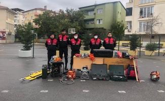 Maltepe'de afetlere karşı hazırlıklar sürüyor