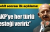 AK Parti'ye terör çağrısı