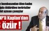 BDP'li Kaplan'dan 3 fotoğraf için özür !