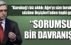 Dışişleri'nden Sarkisyan'a tepki