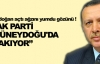 Erdoğan açtı ağzını yumdu gözünü !