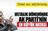 Erdoğan'ın PKK hatası !
