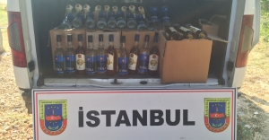 Jandarma'dan Sahte İçki baskını