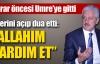 Mehmet Ali Aydınlar Umre'ye gitti
