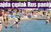 Plajda çıplak Rus paniği