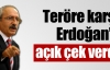 Teröre karşı Erdoğan'a açık çek
