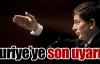 Türkiye'den, Suriye'ye son uyarı
