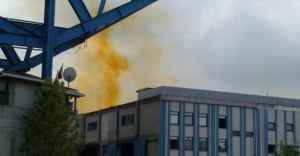 Tuzla'da Kimyasal Sızıntı