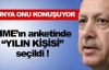 Yılın kişisi; Recep Tayyip Erdoğan !