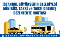 İbb; Taksi, Dolmuş Ve Minibüsleri Düzenli Olarak Dezenfekte Ediyor
