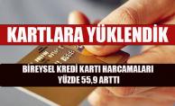 Bireysel Kredi Kartı Harcamaları Yüzde 55,9 Arttı