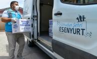 Esenyurt Belediyesi' nin Gıda Kolisi Ve Sıcak Yemek Dağıtımları Devam Ediyor