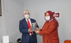 Dilek Ürün Karadağ ZeytinkKöy Tv den Hüseyin Çetiner'in GÜNDEM Programına Katıldı