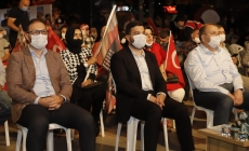Kağıthane'de 15 Temmuz Gecesi Kahramanca Verilen Mücadele Anıldı