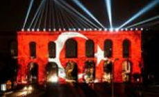 Türkiye'nin İlk Atatürk Hologramıyla Coşkulu Kutlama