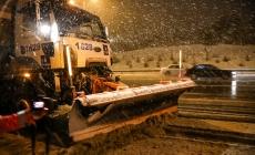 İBB'Nin Karla Mücadele Ekibine İstanbul Halkından Tam Not