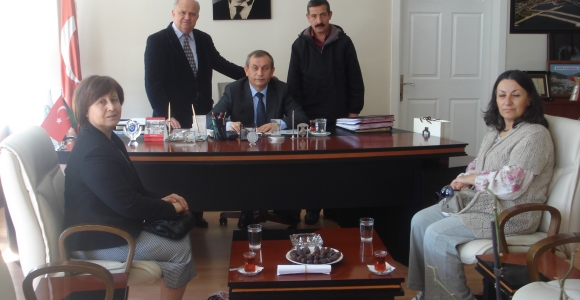 Zeytinburnu Kaymakamı Dündar'a İsöslüler'den Taziye Ziyareti!..