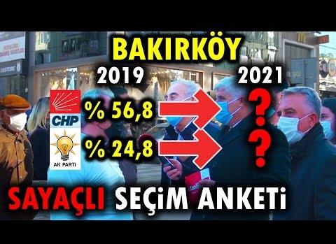 Bakırköy'de DEV SEÇİM ANKETİ!! (100 KİŞİYE SORDUK!!)