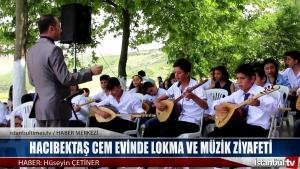 Hacıbektaş Cem Evinde Lokma ve Müzik Ziyafeti
