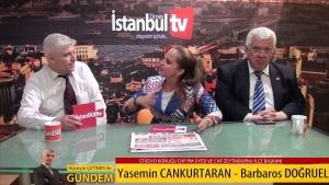 Hüseyin ÇETİNER ile 'Gündem'in Konuğu Yasemin CANKURTARAN ve Barbaros DOĞRUEL