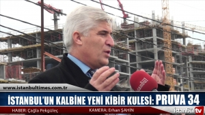 İstanbul'un Kalbine Yeni Kibir Kulesi PRUVA 34