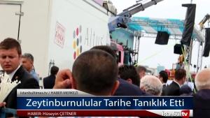 Ordu giresun havalimanı açılışı Zeytinburnu'lular Tarihe Tanıklık Etti