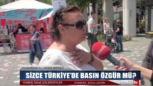 SİZCE TÜRKİYE'DE BASIN ÖZGÜR MÜ