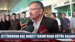 Zeytinburnu Buz Hokeyi Takımı'ndan Büyük Başarı
