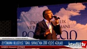 Zytinburnu Belediyesi İftarda 2000 Kişiyi Ağırladı